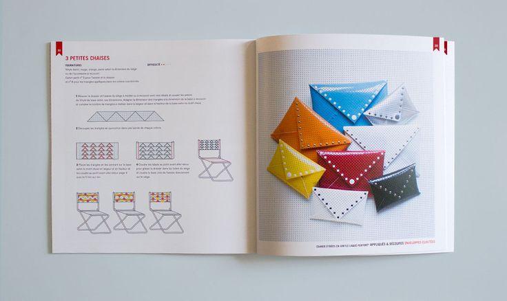 Cahier d'idées 6 / Appliqués & Découpes / Objets et accessoires à réaliser avec le Vinyle Laqué Perforé®