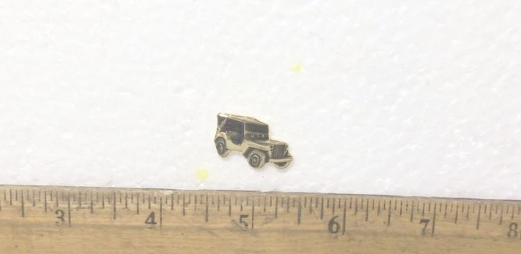 US Army Military Jeep Pin