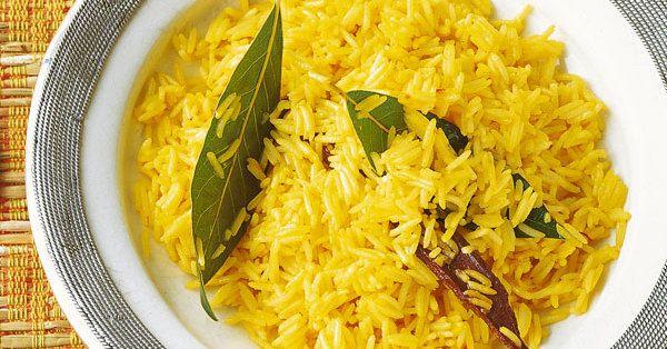 Herrlich duftender, goldgelber Safranreis ist eine edle Beilage für besondere Gerichte und festliche Anlässe.