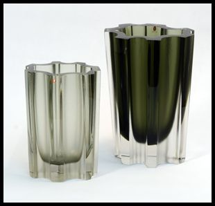 A glass designed by Tapio Wirkkala for Iittala