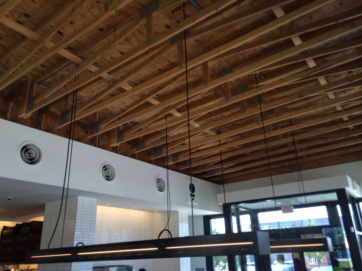 Best 25 Exposed Rafters Ideas On Pinterest Interior