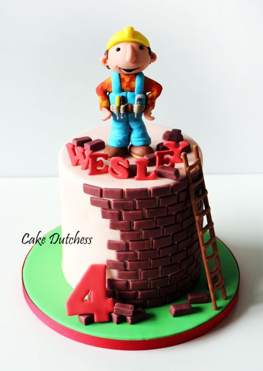 Bob The Builder D Cake Toppers