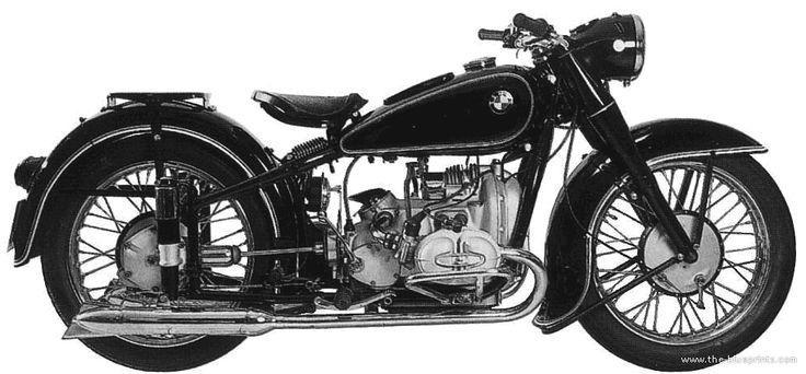 BMW R51 2 (1950)