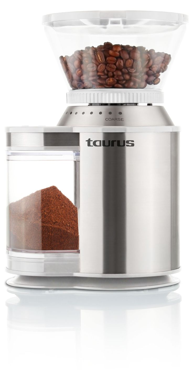 Molinet De Cafe Burr Coffee Grinder  http://www.taurusappliances.co.za/products/120w-burr-grinder-908120