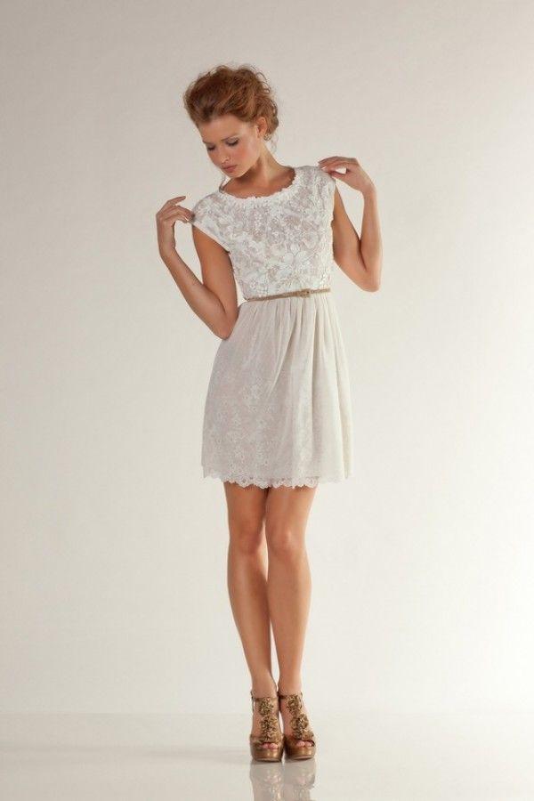 Best 25  Short vintage wedding dresses ideas on Pinterest   Short ...