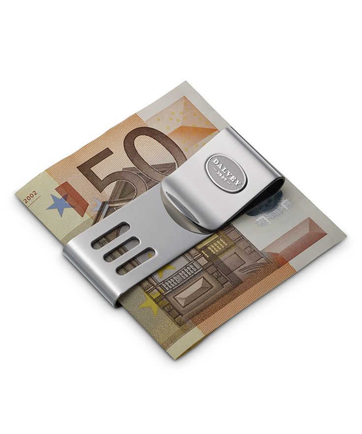 Personalised Double Money Clip