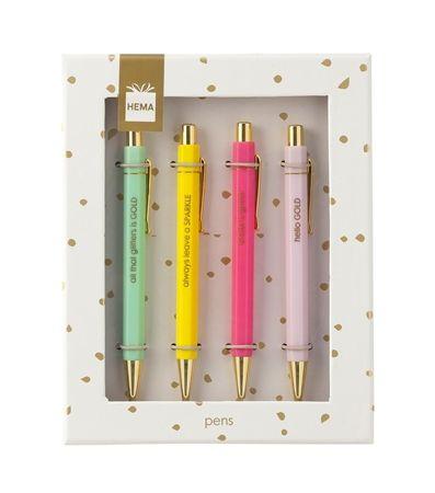4 stylos - HEMA