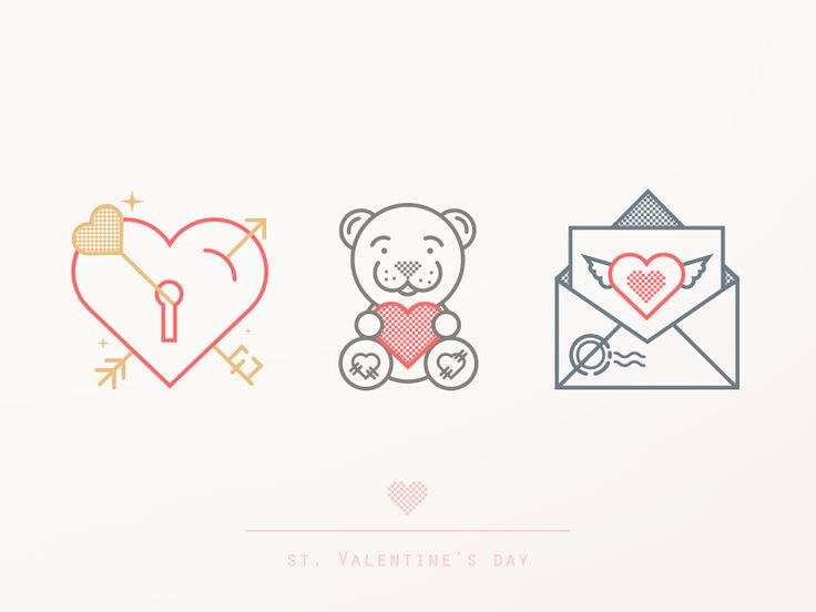 Free Valentine's Postcard by Dasha for Yalantis