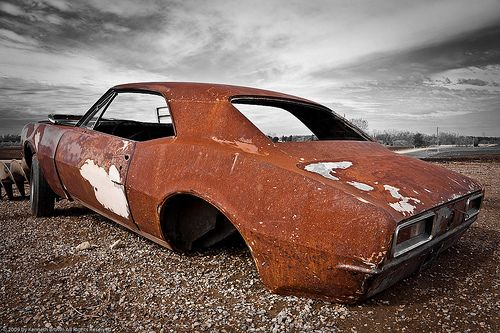 Old Rusty 1967 Chevy Camero Under B Skies by K. B. Photography, via Flickr1967 Camaro, Rusty Chevy, Chevy Camero, Rusty 1967, Abandoned Treasure, Chevy Camaro, 1967 Chevy, Rusty Golden, 1967 Camero