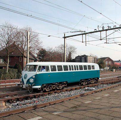 WW train Volkswagen wagon