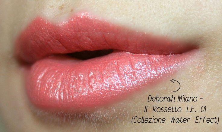 Il Rossetto L.E. 01 Fresh Apricot Water Effect Collection by Deborah Milano