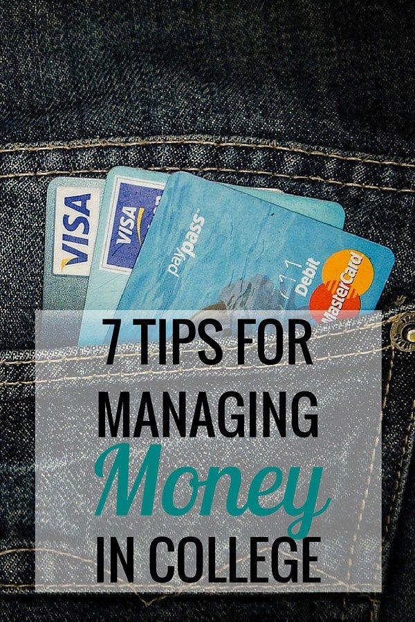 Lovely 7 Tips For Managing Money In College