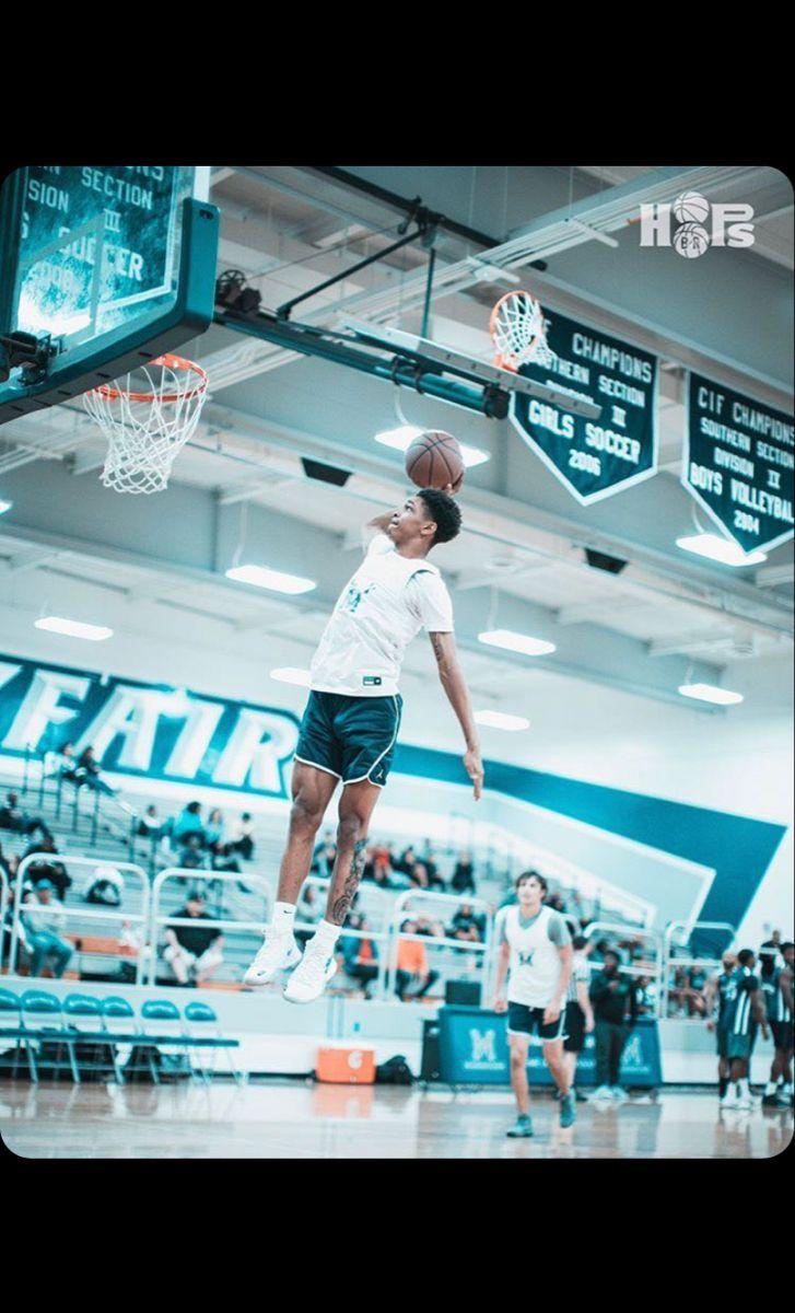 Dior Johnson High School Basketball Basketball Baby Basketball Wallpaper