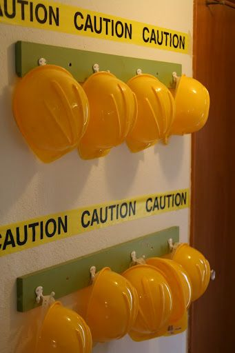 construction themed classroom idea - job helpers idea