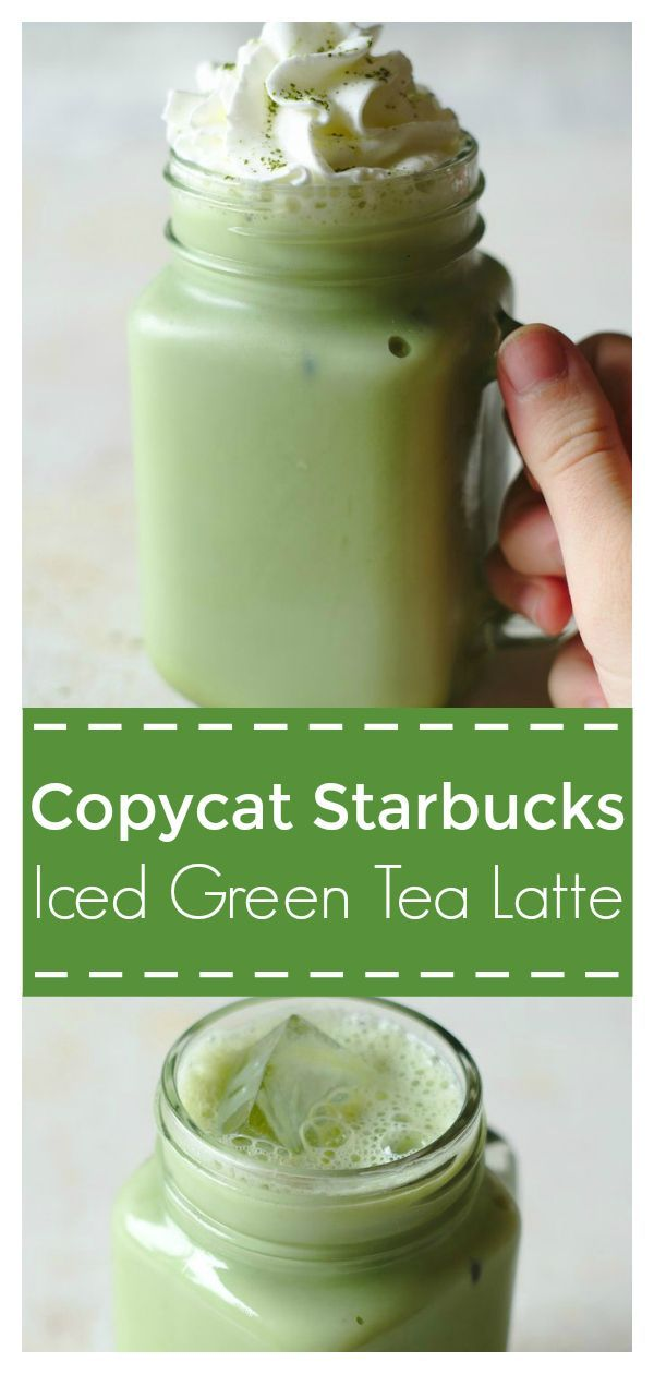 Iced Green Tea Latte (Starbucks Copycat)
