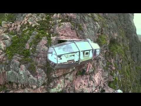 Video | ¿Te atreverías a dormir aquí?