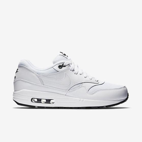 premium selection 4b09c 304f8 Nike Air Max 1 Essential Mens Shoe White Black White ...