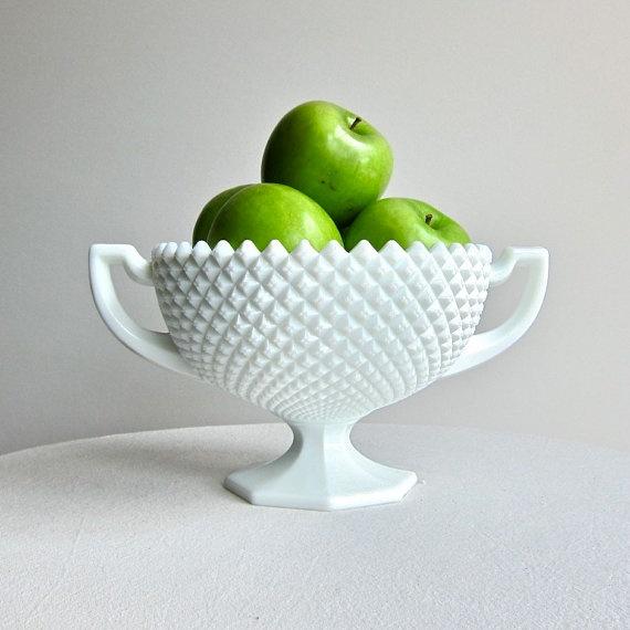 Westmoreland Milk Glass Loving Cup Vase or Bowl