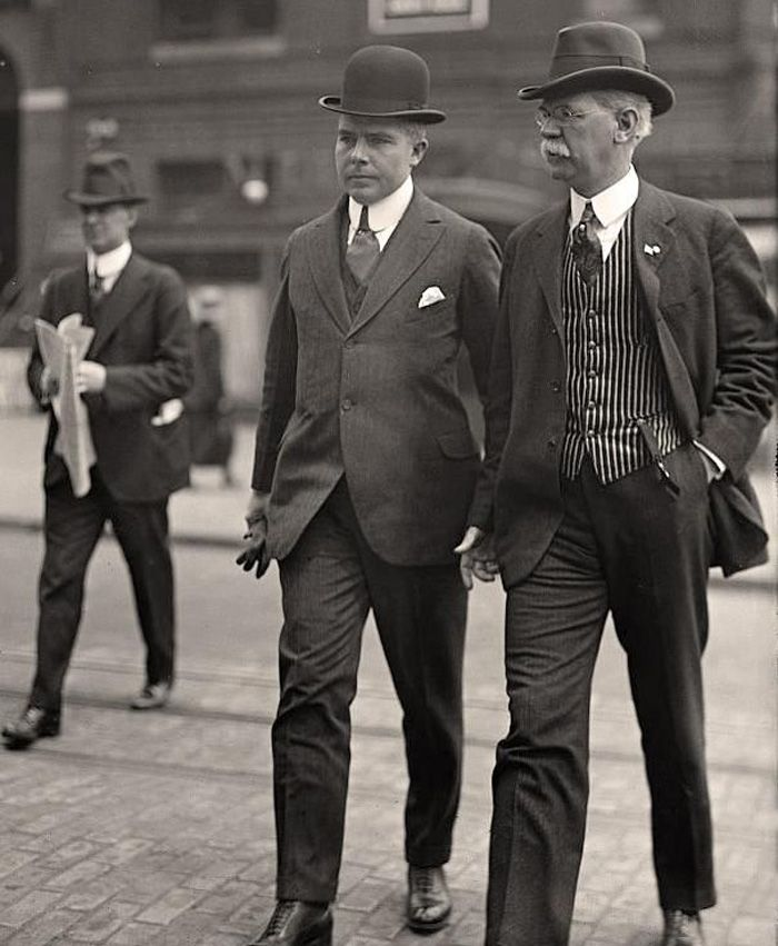 100 Years of Men's Fashion: 1900--1919
