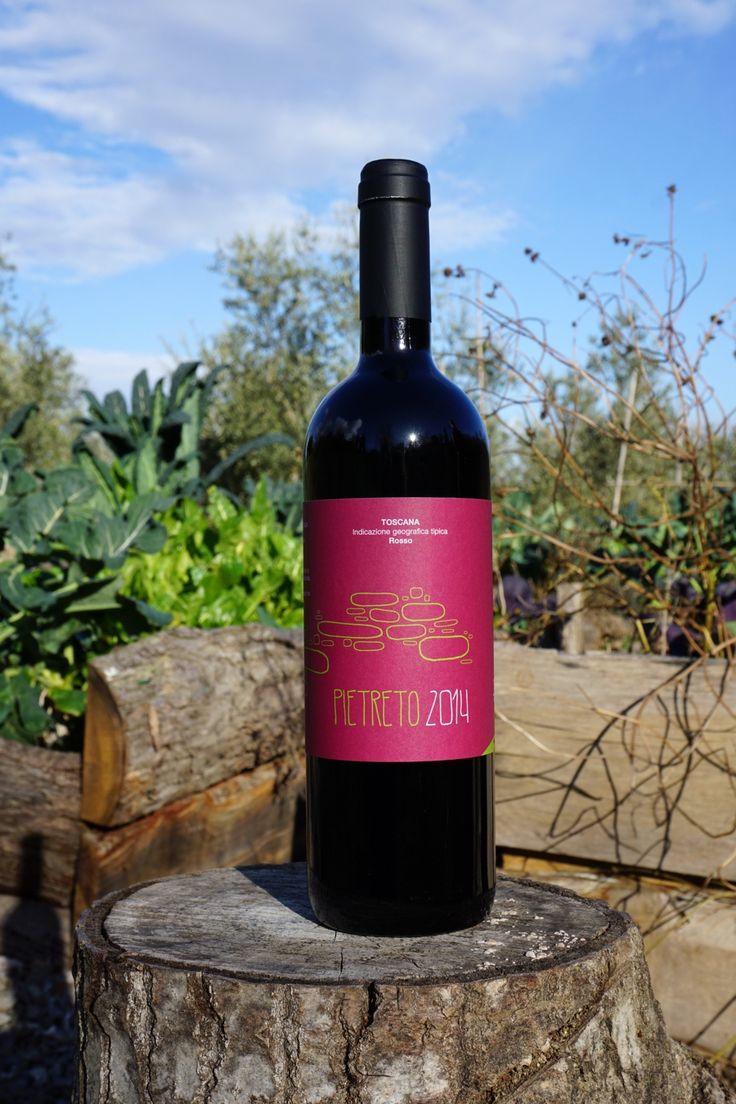 """""""Pietreto"""" vino BIO di Suzie's Yard. Graphic design by DisGrafica #biofood…"""