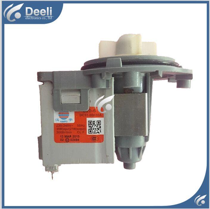 D'origine pour pièces de machine à laver machine À Laver pièces DC31-00030A B20-6 pompe de vidange moteur 30 W bon de travail
