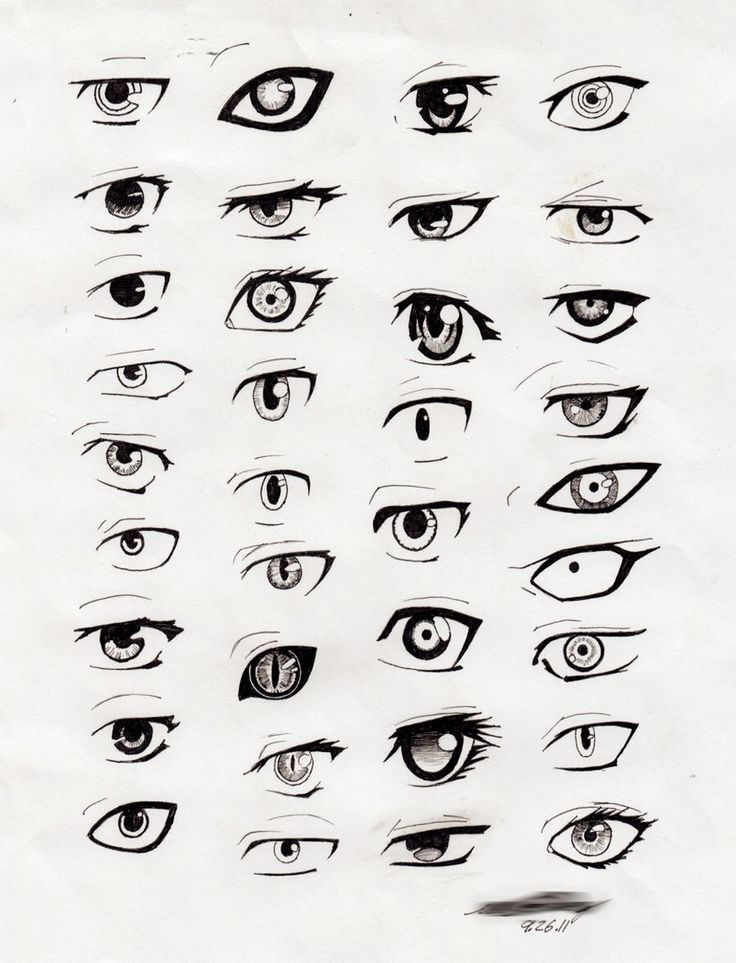 Scribble Monster Drawing : Monster anime eyes how drawing pinterest