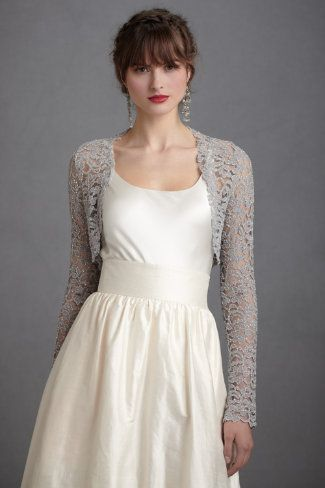 Lady Grey Shrug - I really-really want this for the wedding-my dress is a darker grey