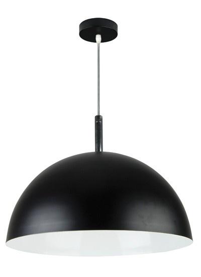Inside 1 Light Pendant in Black/White,Lighting,Beacon Lighting
