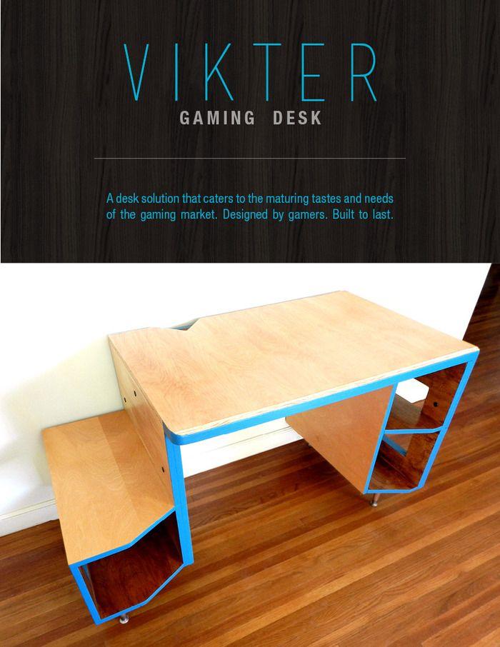 VIKTER Gaming Desk by Volko Design — Kickstarter
