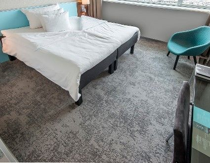 Colortec TWIST carpet by Dansk Wilton