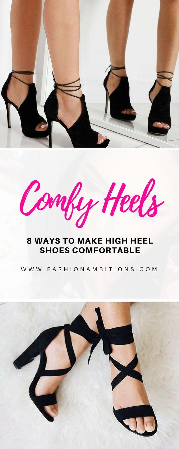 8 Ways to Make High Heel Shoes Comfortable