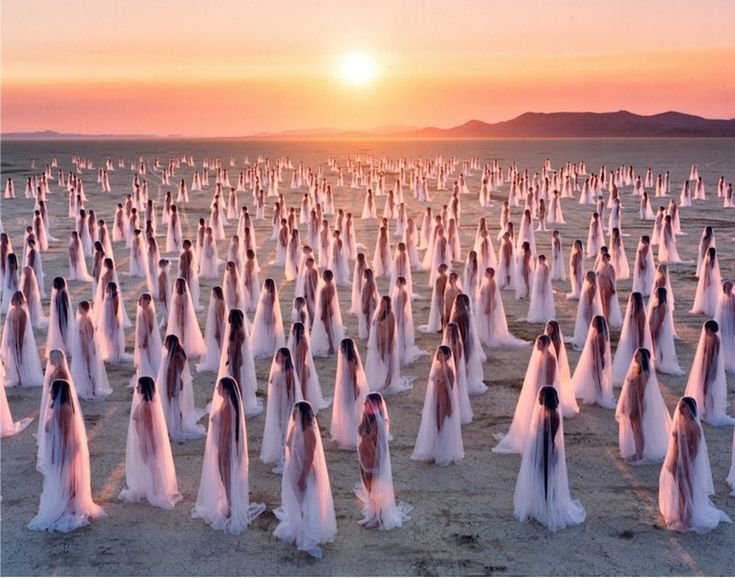 Dawning of the age of Aquarius Spencer Tunick