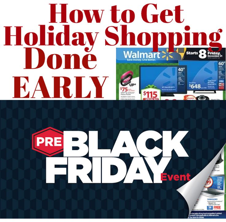 Walmart Pre-Black Friday Sale: How to get Holiday Shopping Done Early