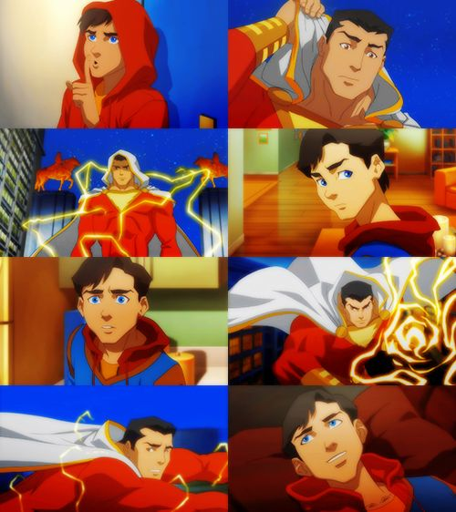 Billy Batson aka Captain Marvel/Shazam! in Justice League: War