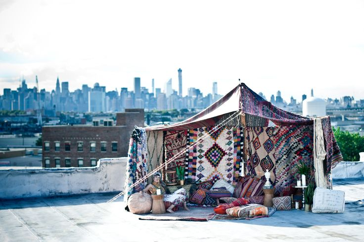 The big apple compliments our Moroccan tent! | Patina