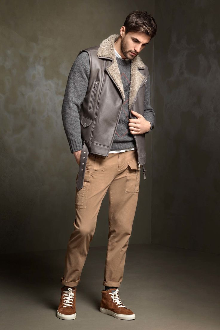Male hipster clothing