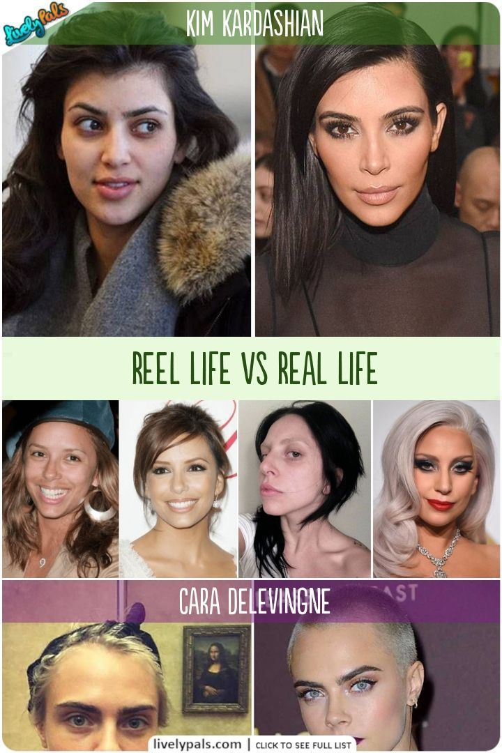 Celebrities Without Makeup Reel Life Vs Real Life Encoding Audio Video And Photo Content Is The Best In 2020 Without Makeup Models Without Makeup Celebrity Makeup