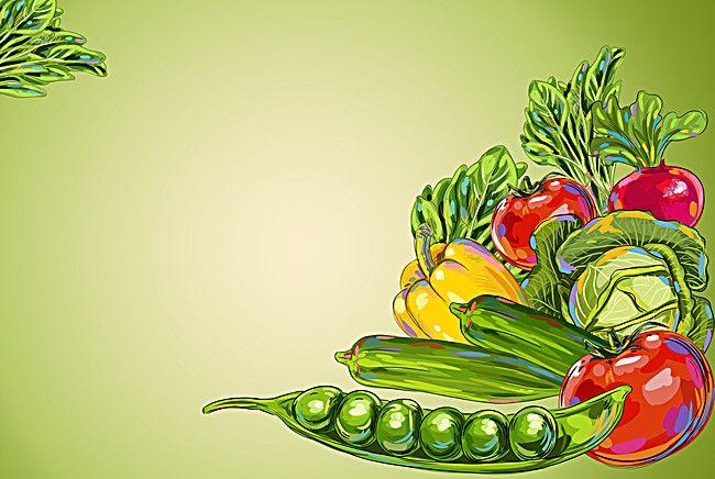 Art Floral Design Leaf Background | Vegetable cartoon ...