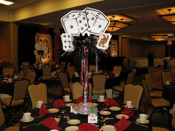 Vegas Theme Wedding Decorations