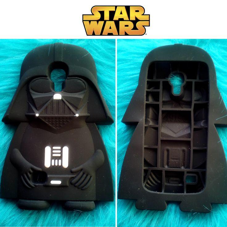 Y si tienes un Samsung Galaxy S4 Mini, aquí tienes a Darth Vader en funda de silicona en 3D.