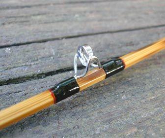 Cañas de pescar, anillas