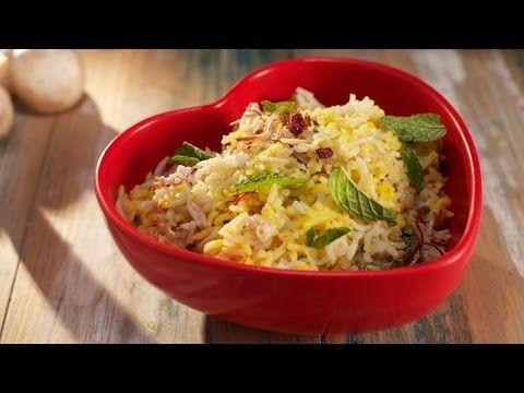 Healthy Veg. Biryani by Chef Vikas Khanna - YouTube