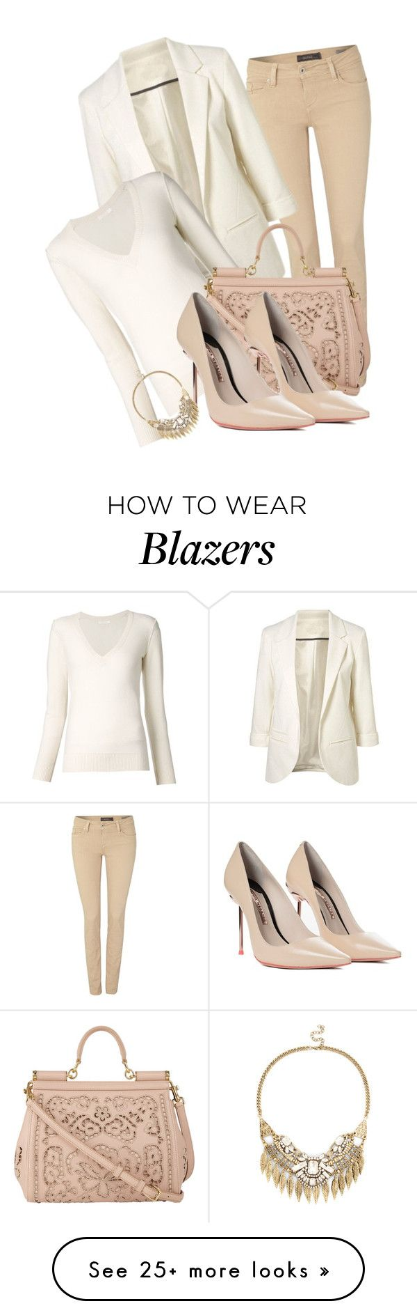 """Untitled #354"" by daaaiu on Polyvore featuring Salsa, Chloé, Dolce&Gabbana, Sophia Webster and Sole Society"