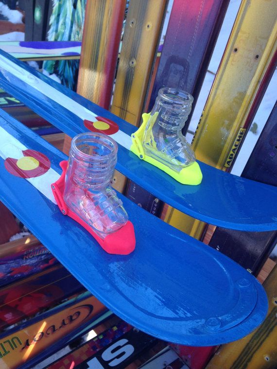 Colorado Shot Ski with bindings by ColoradoSkiChairs on Etsy