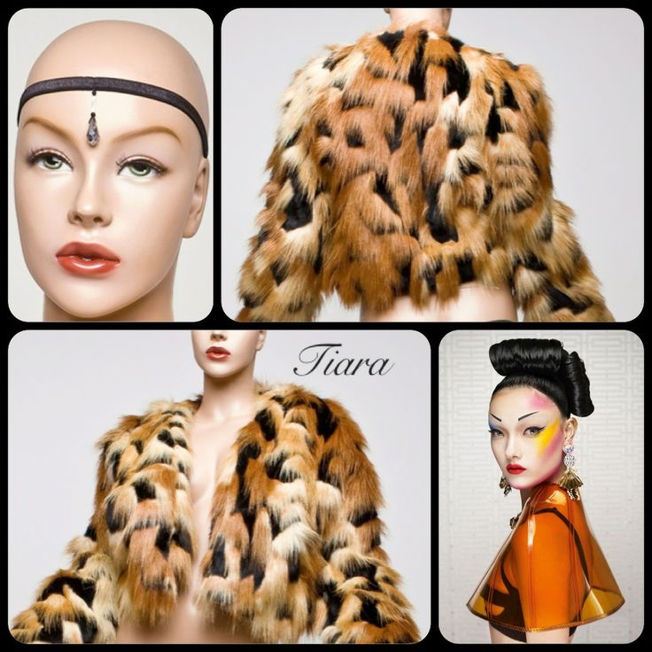 Sigh. Every girls dream is to don a Tiara; this soft and simply stunning, animal friendly fur is classic 70s porn style jacket.  Fully lined with raglan sleeves and side front pockets that sit just above the waist, Tiara is warm and inviting to all who are exposed to her.