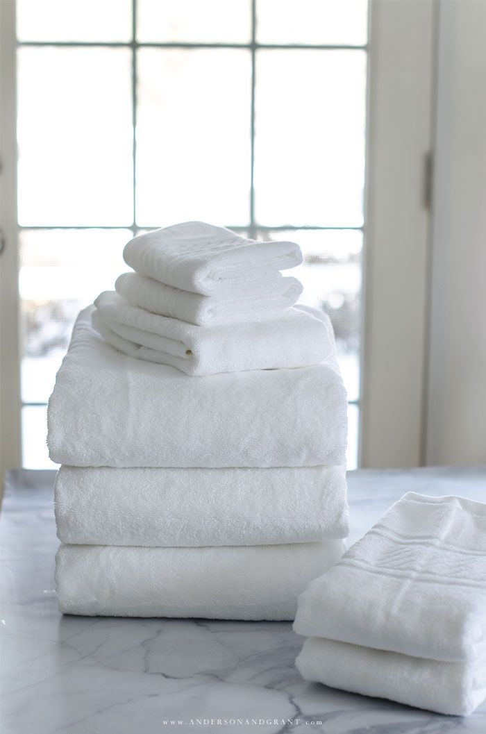 How To Fold Bath Towels For A Tidy Linen Closet How To Fold