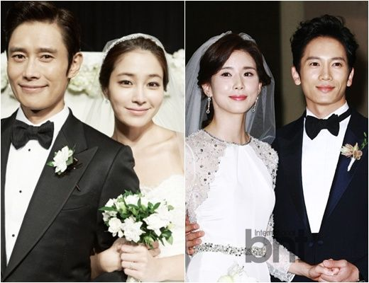 From Lee Min Jung to Park Bo Young, Celebrity Wedding Makeup Look