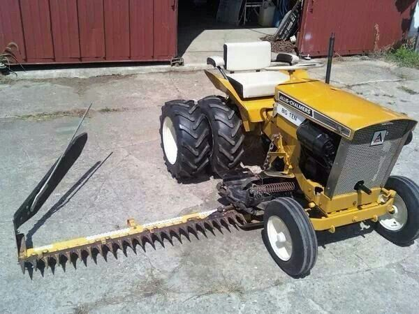 1000 images about farmers best freind on pinterest john deere four wheel drive and wheels for Sickle mower for garden tractor