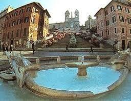 Plaza España, Roma.