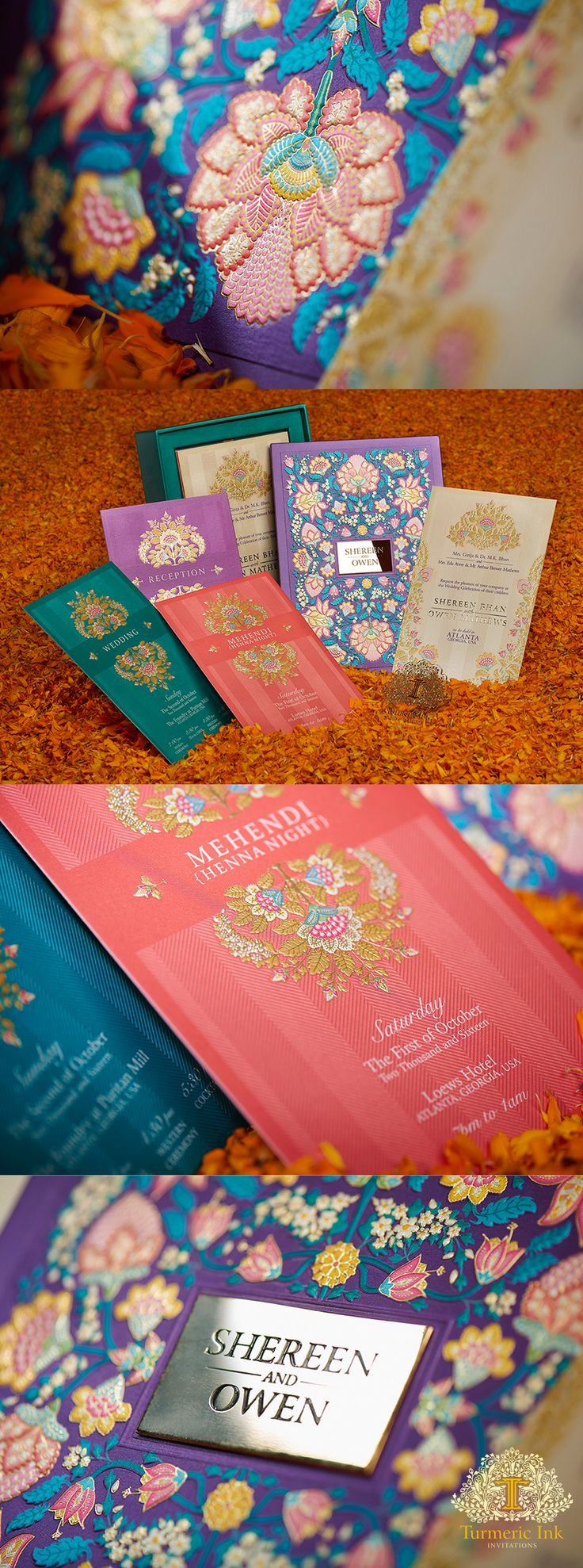 invite invitations Indian wedding invite wedding card